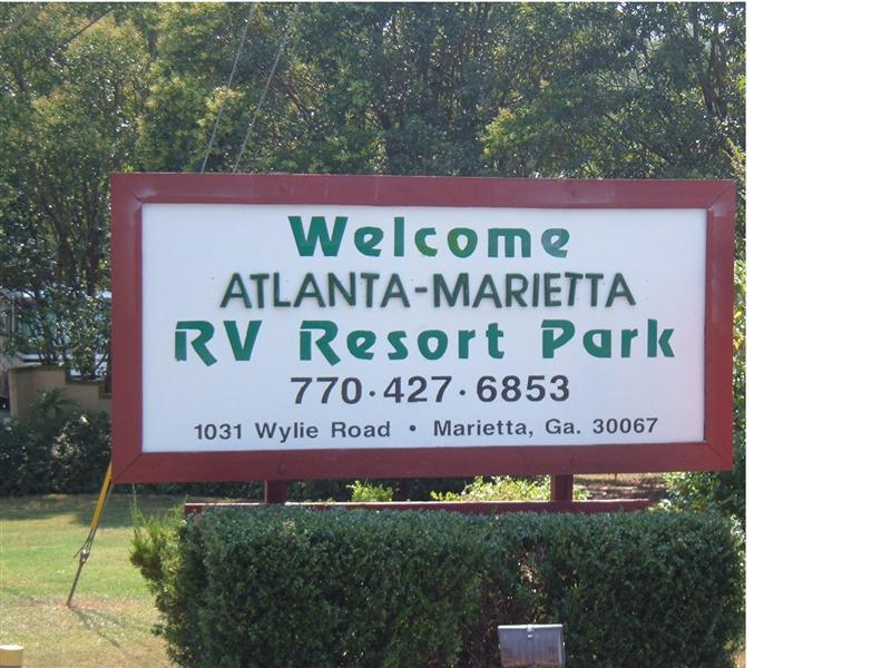 Atlanta Marietta RV Resort GA