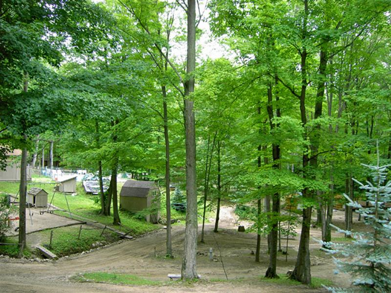 Cadillac Woods Campground Photo Gallery