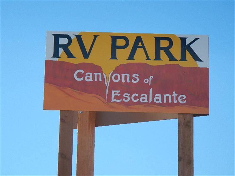 Canyons Of Escalante RV Park UT
