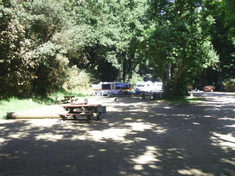 Riverside campground and cabins photo gallery for Big sur campground and cabins